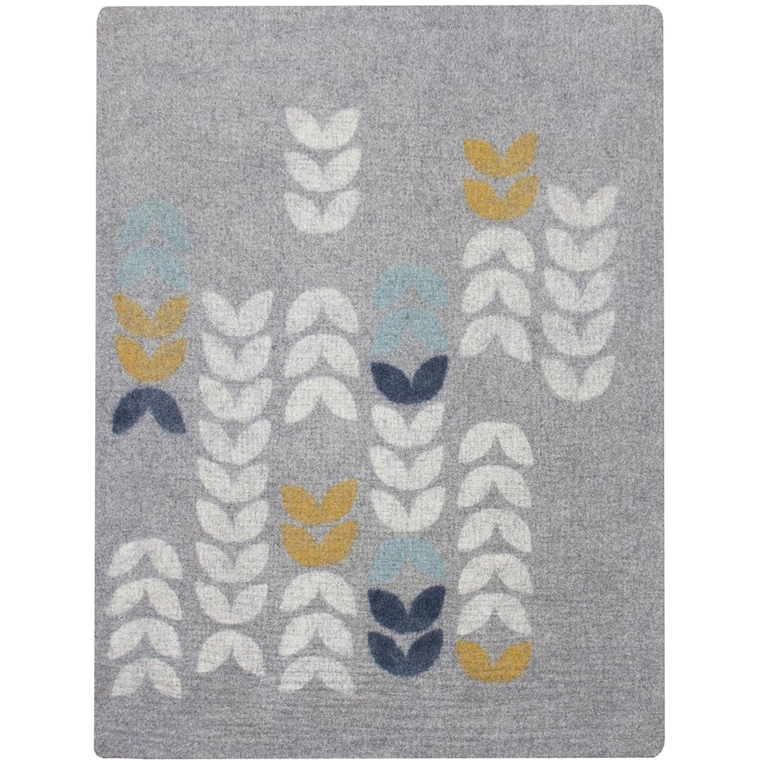 6'x8'  gray/spring/aqua/indigo