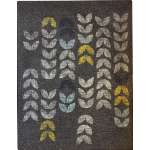 6'x8'  charcoal/gray/aqua/spring/indigo