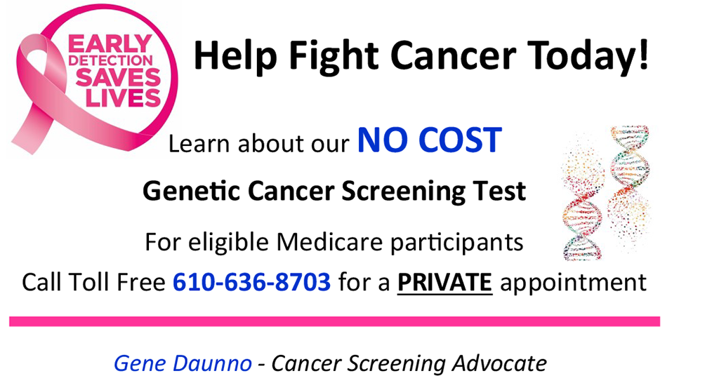 Genetic Cancer Screening Testing