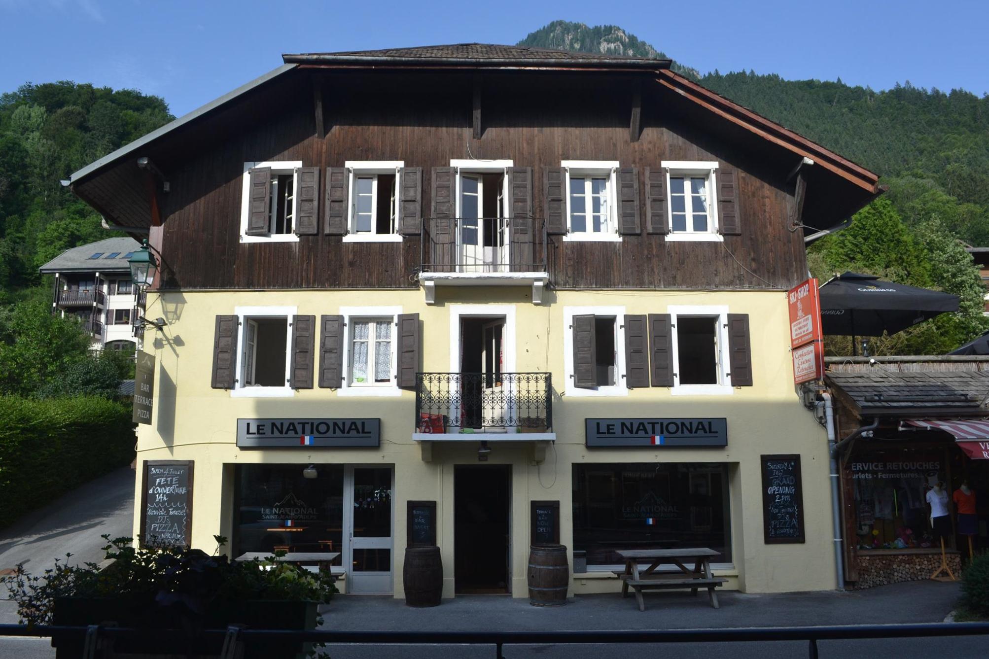 Bar Le National - St Jean d'Aulps, France