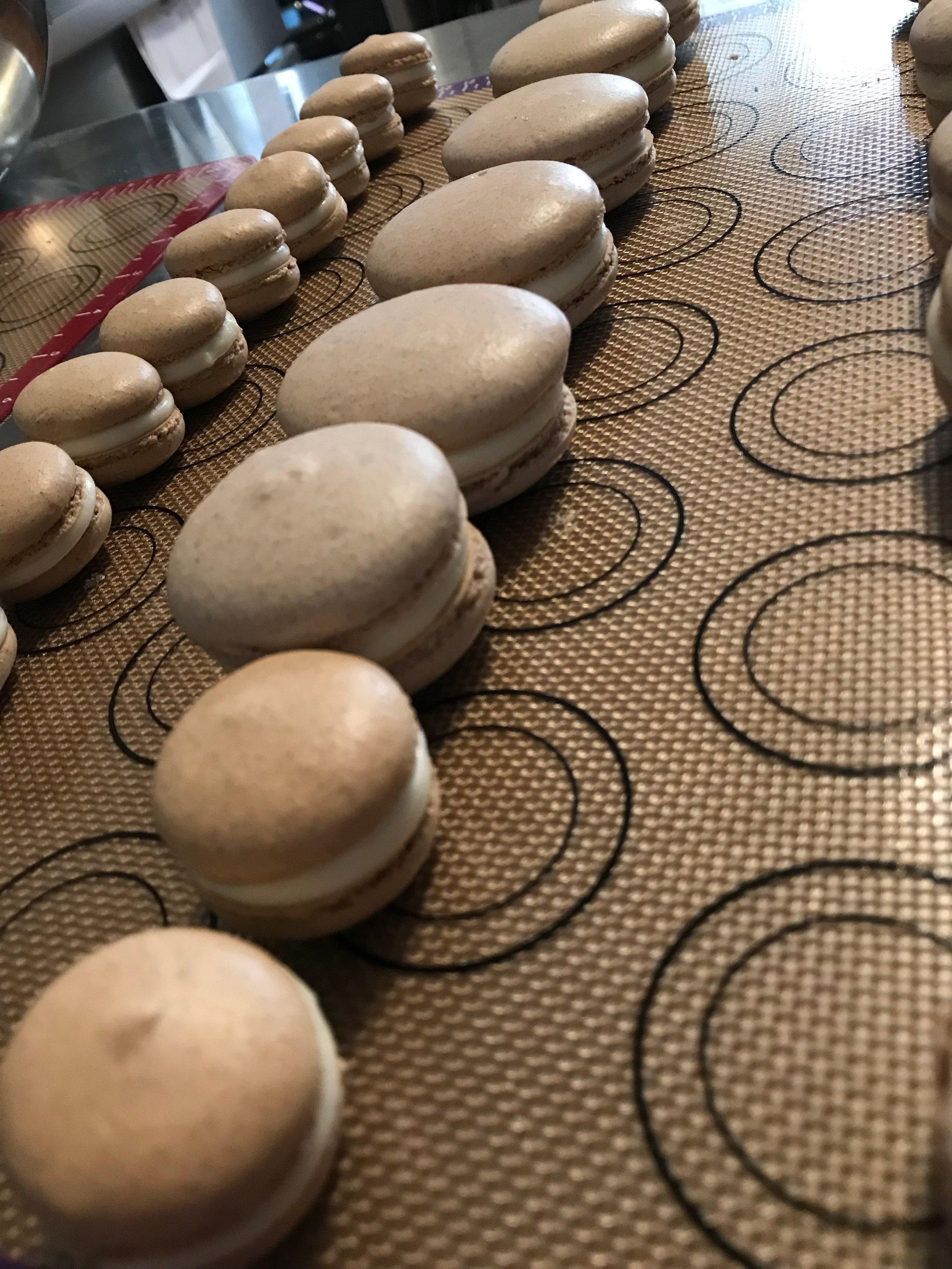 Joanie Oakes/ Cinnamon Roll Macarons