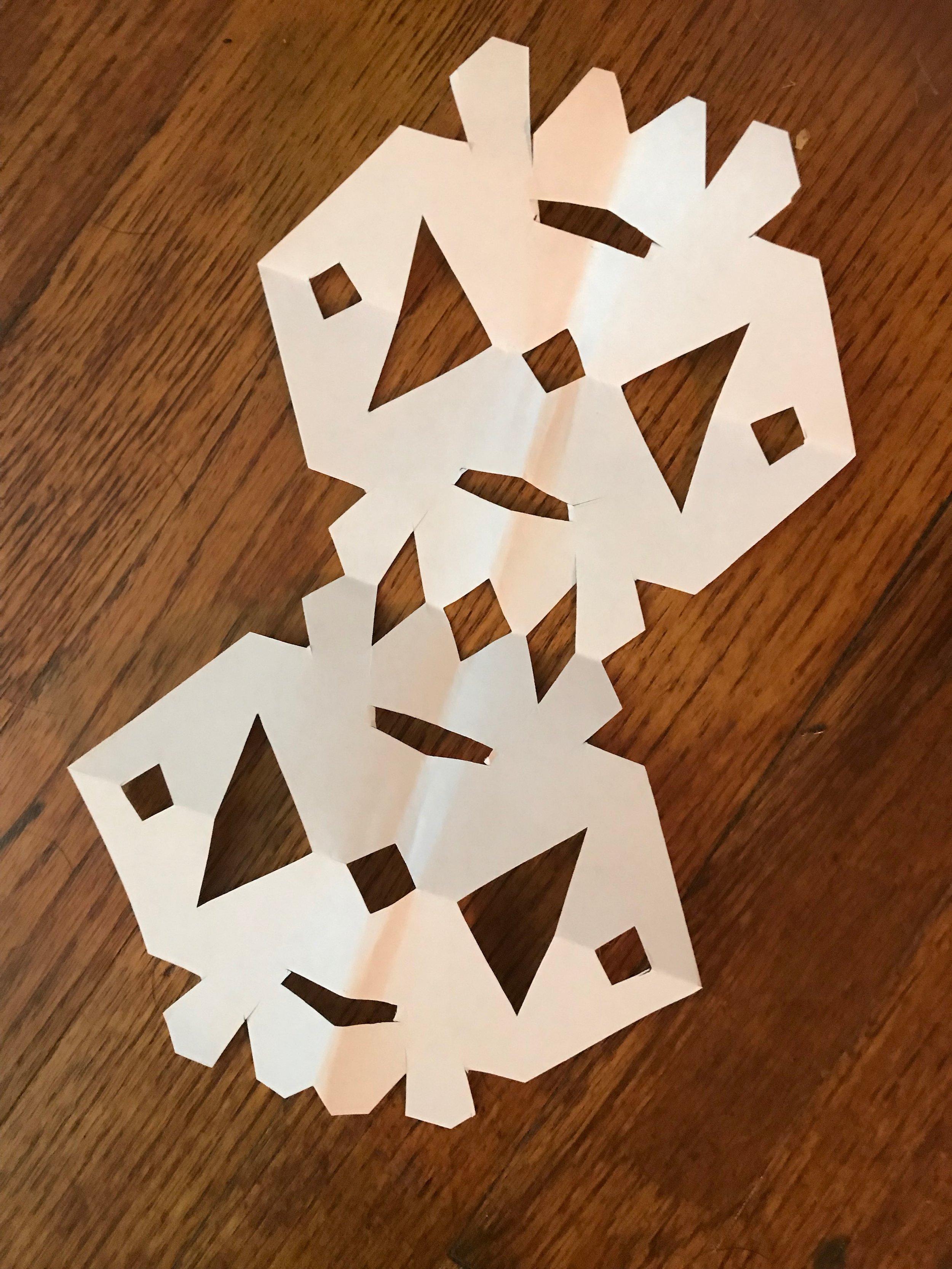 Bella Oakes/ Paper Cutting
