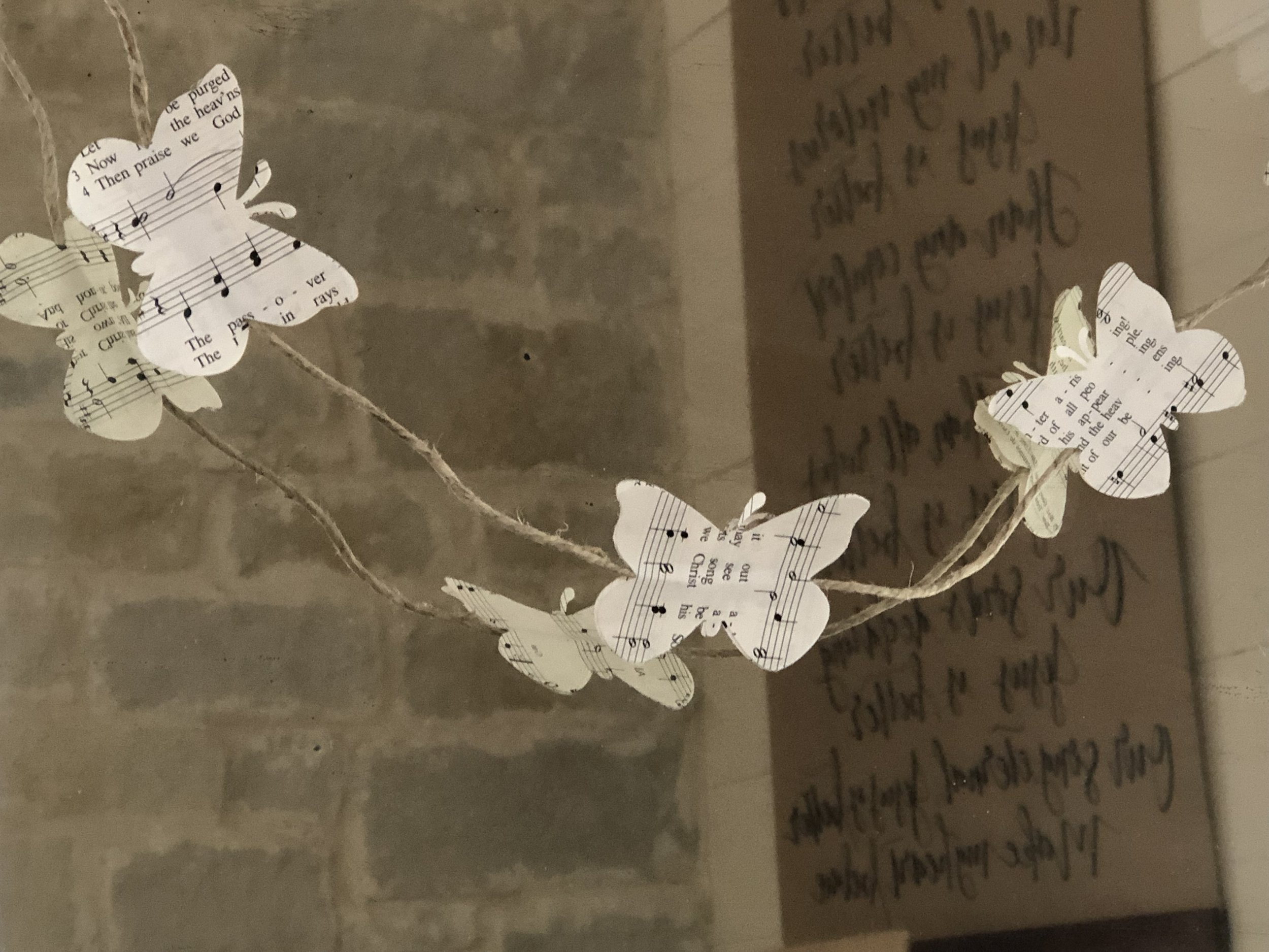 Tami Glasco/Butterfly Garland