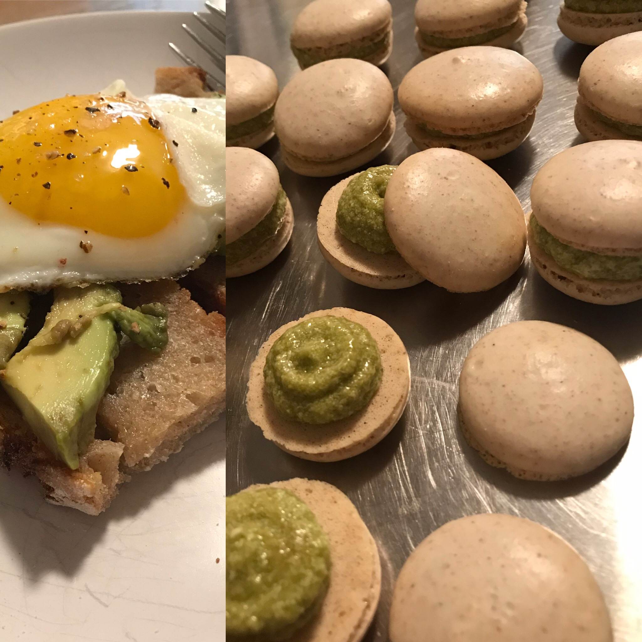 Joanie Oakes/ Avocado Toast Macarons