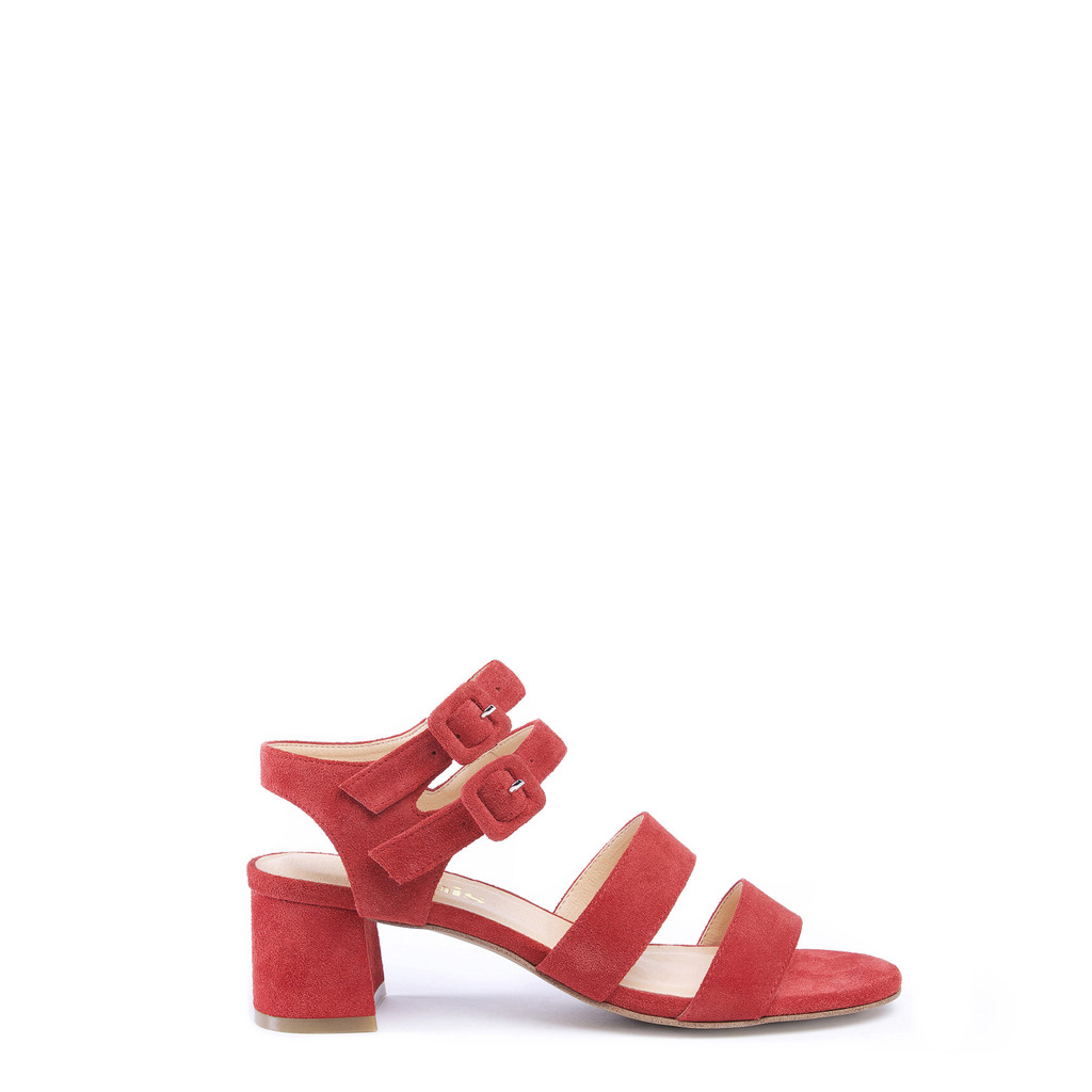 Higher cost option : Marais Usa JARDIN HEEL, CHERRY (via  maraisusa.com )