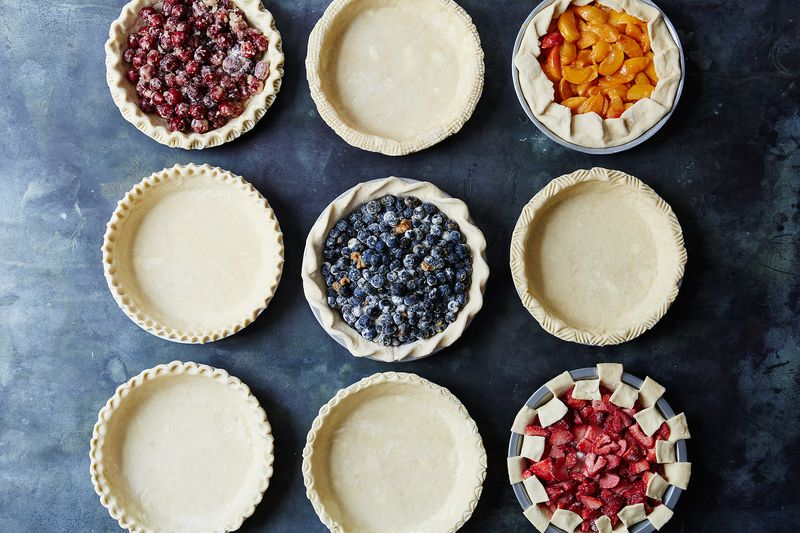 I'll take a pie with all the different edges, please. (Photo by Linda Xiao via  food52 )