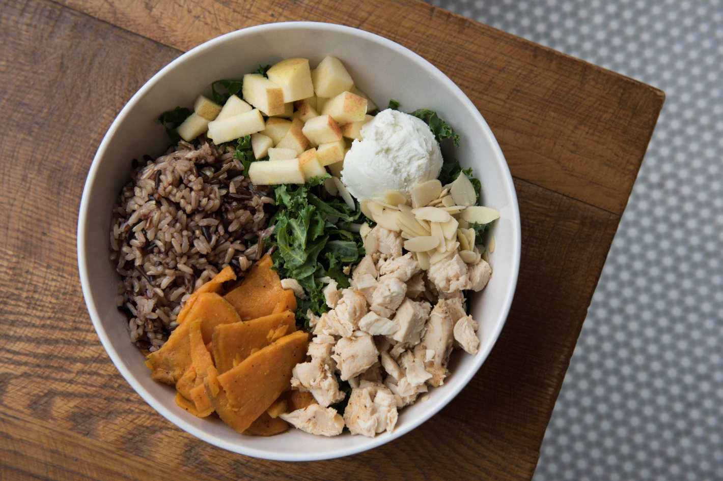 Sweetgreen's Harvest Bowl. Photo: Liz Clayman. (via nymag)