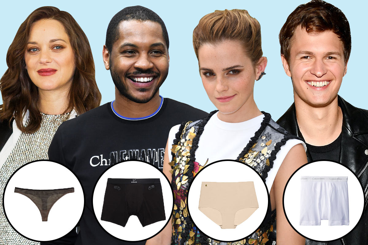 """  18 Famous People on Their Favorite Underwear  """