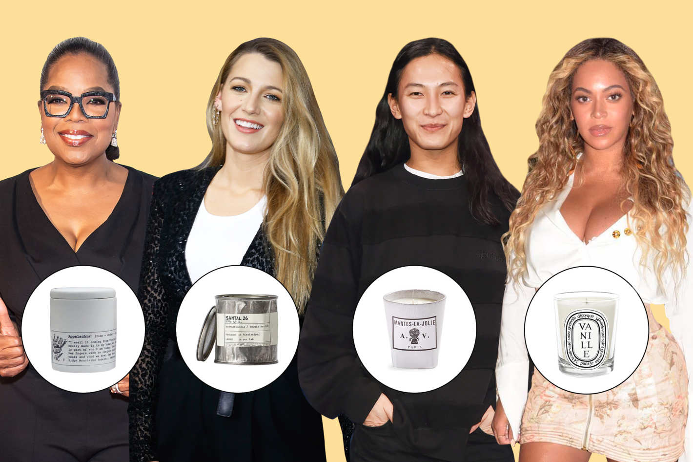 """26 Famous People on Their Favorite Scented Candles"""