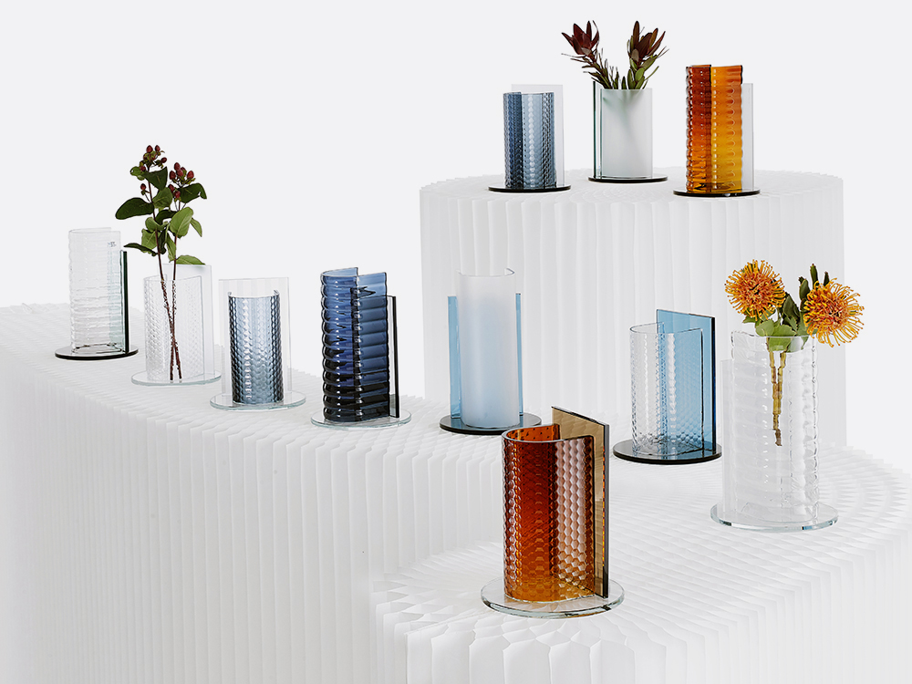 A Collection of Glass Objects, Inspired By Water In All Its Forms