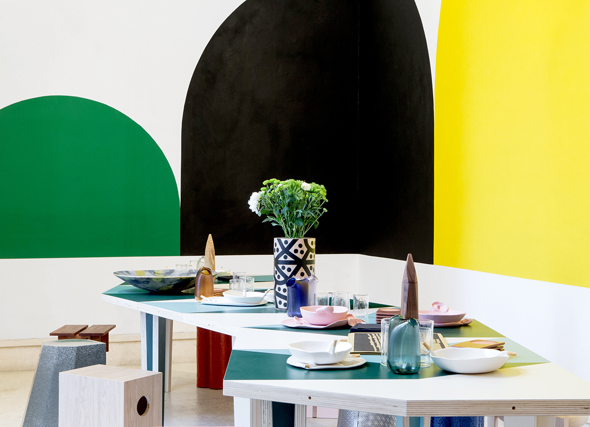 A Designer-Made Breakfast Cafe at the Venice Biennale