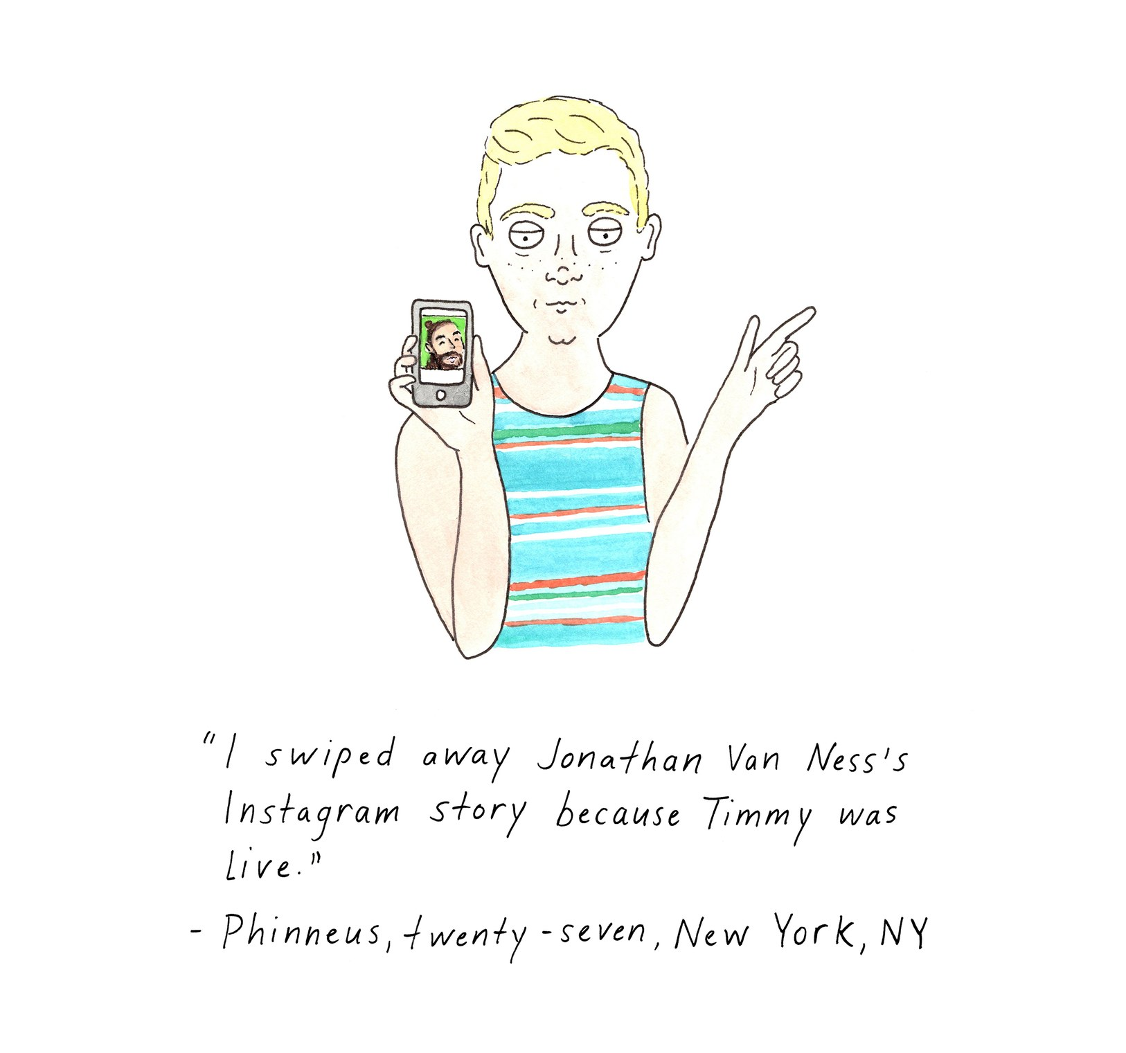 By  Olivia de Recat  via the New Yorker
