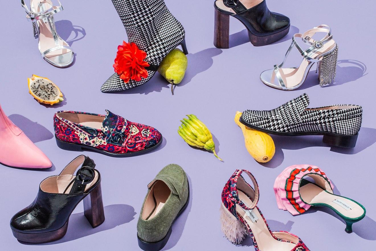 Leandra Medine shoes (leandra medine via vogue)