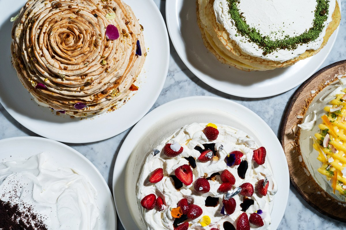 Read more about those cakes  here . (image by Scott Suchman via bonappetit)