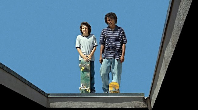 These two were my favorite: Sunny Suljic and Na-kel Smith. (image via A24)