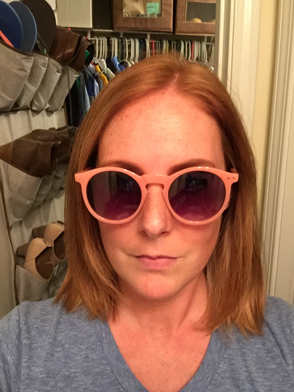 I'm still up in the air about these? Tag Envy Womens Retro Vintage Inspired Round Circle Horn Rimmed Sunglasses