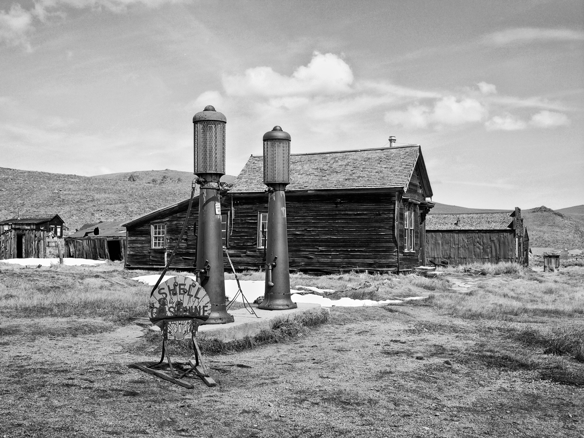 Bodie Gas Station