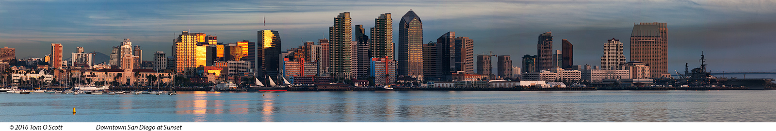 San Diego at Sunset