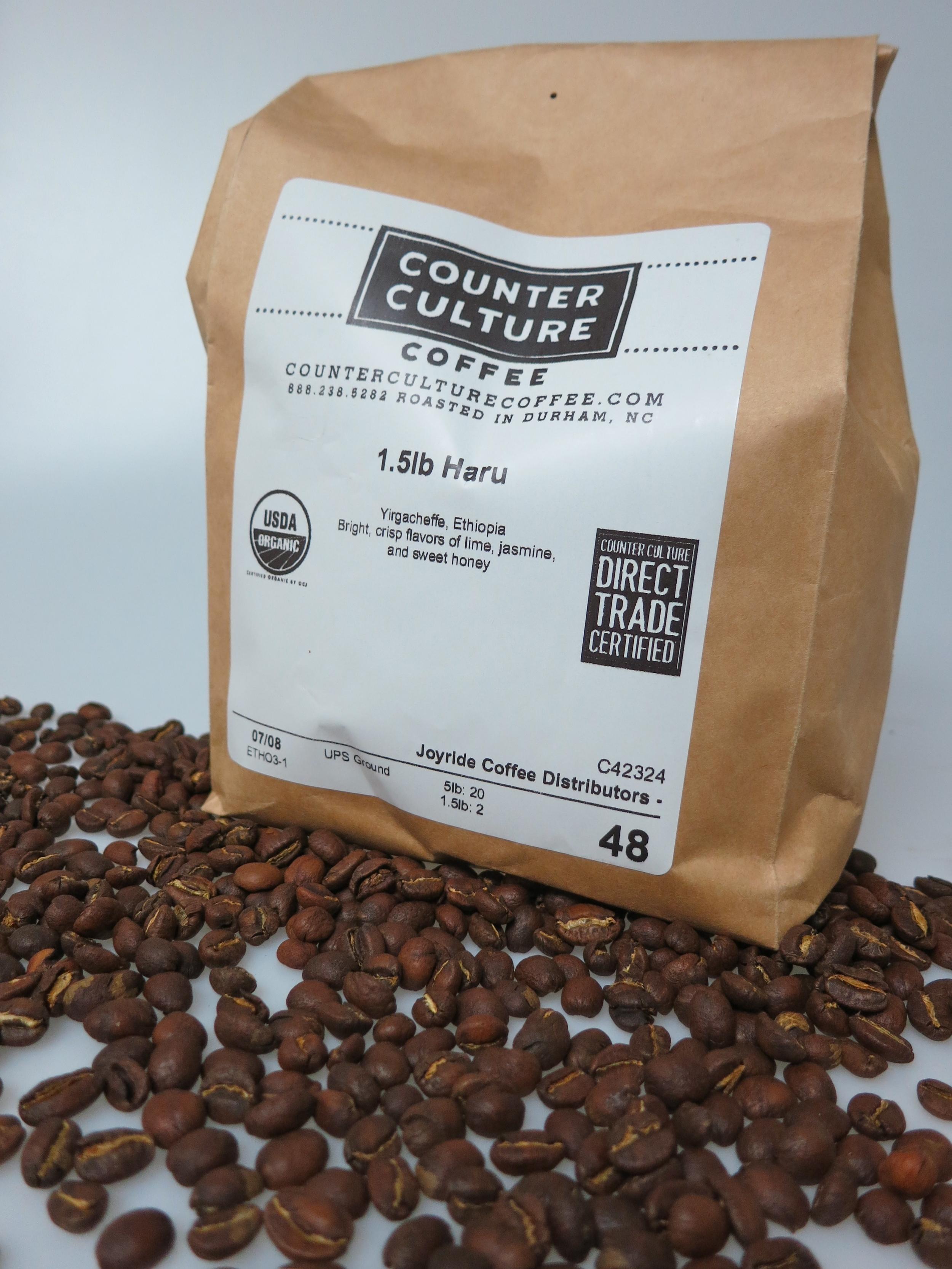 Joyride Coffee, Counter Culture Yirgacheffe