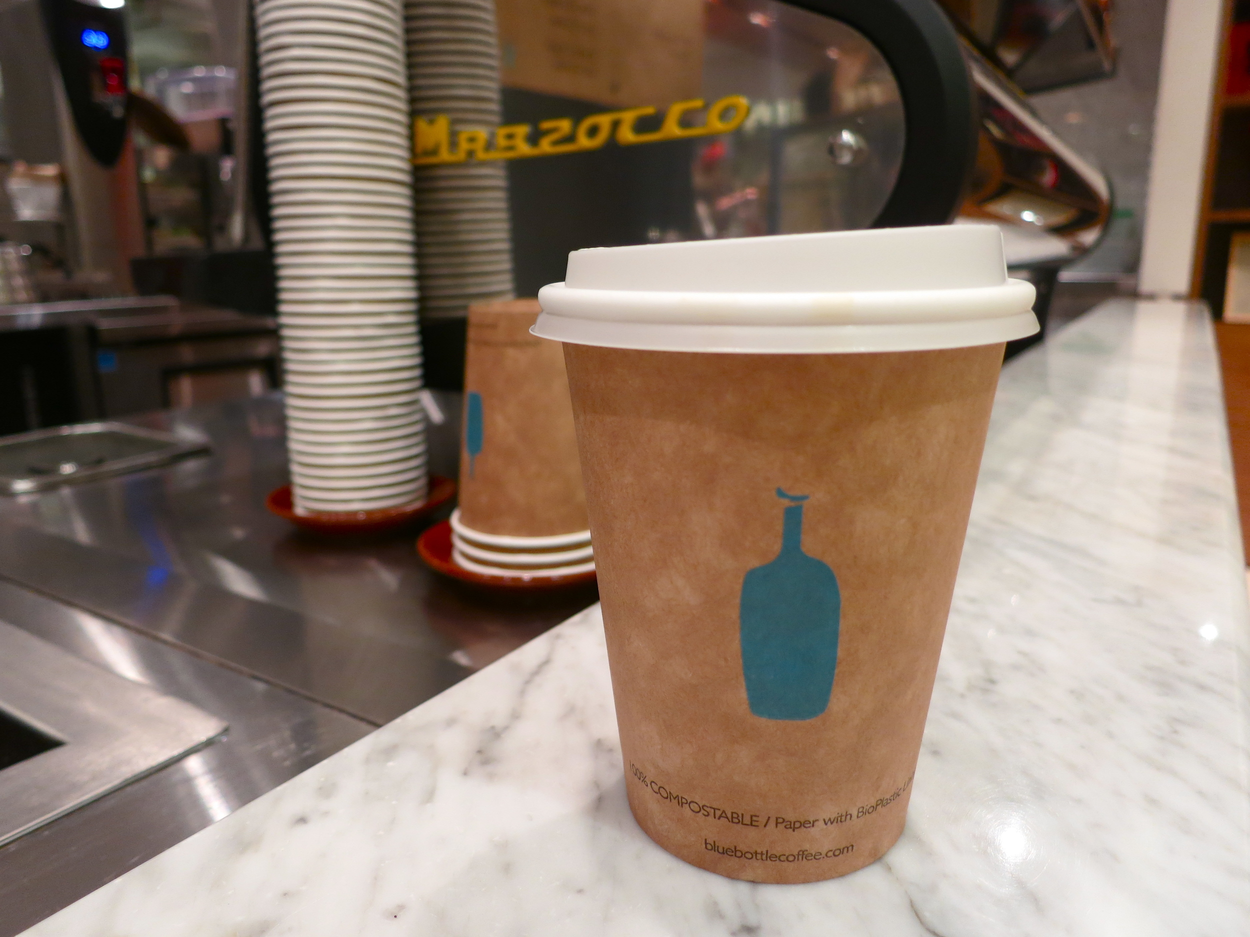 Joyride Coffee, Blue Bottle Coffee