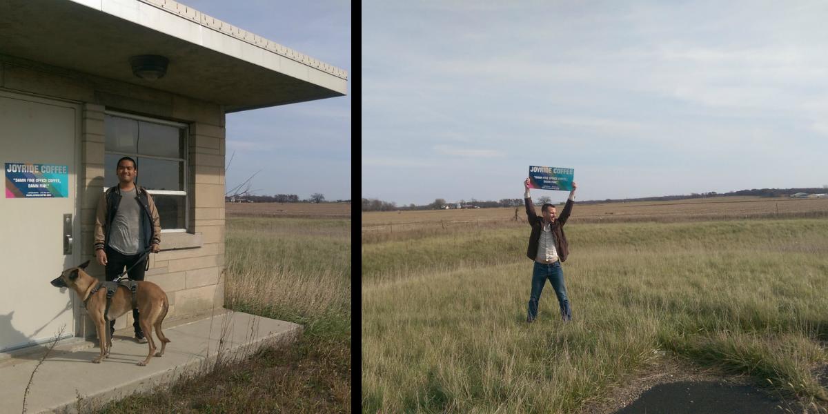 Cornfields outside of Cedar Lake, Indiana