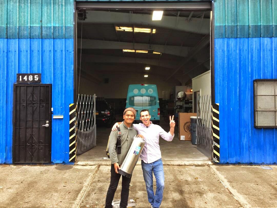 SF warehouse arrival