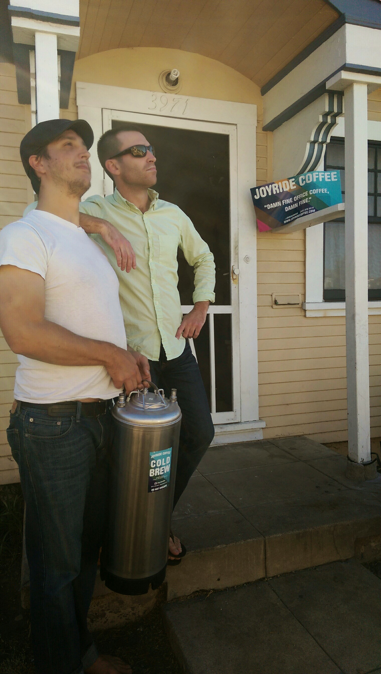 Rob and Matt in San Diego.