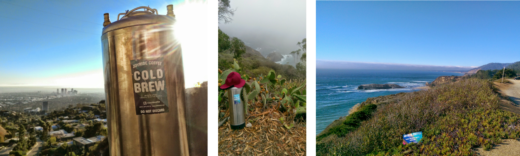 """Some glamour shots of """"Marc the Keg"""" in the LA hills and along the Pacific Coast Highway, Rt. 1"""