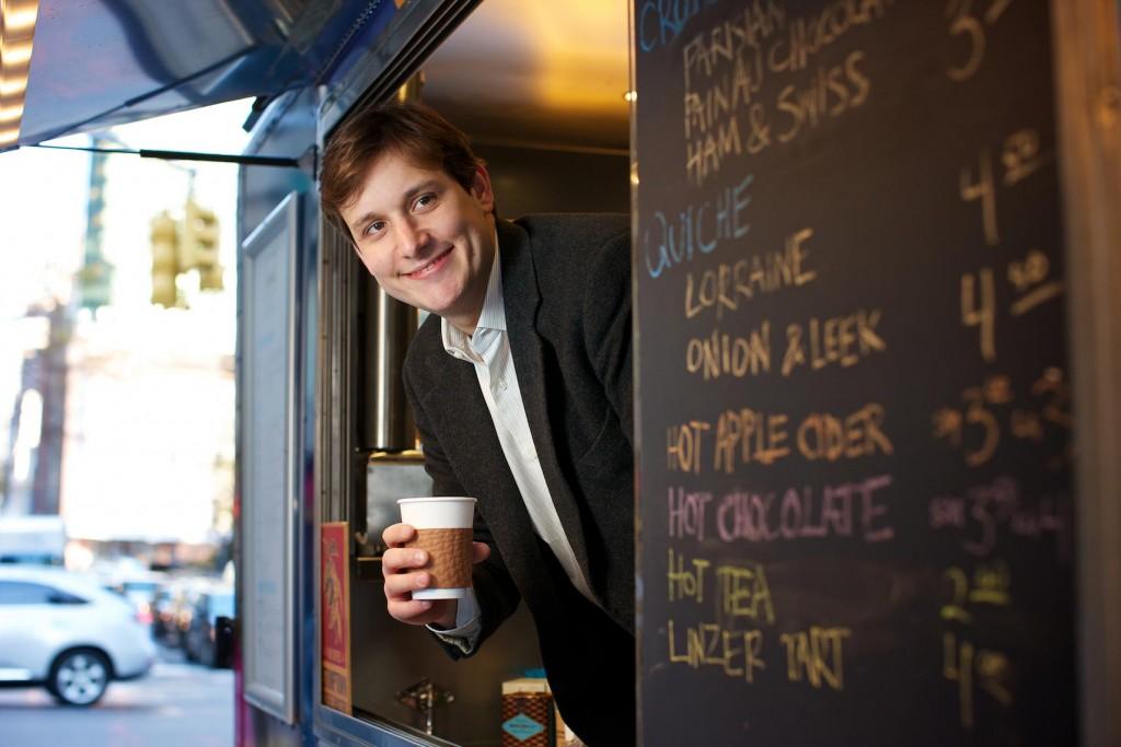 David Belanich - Portrait on Food Truck