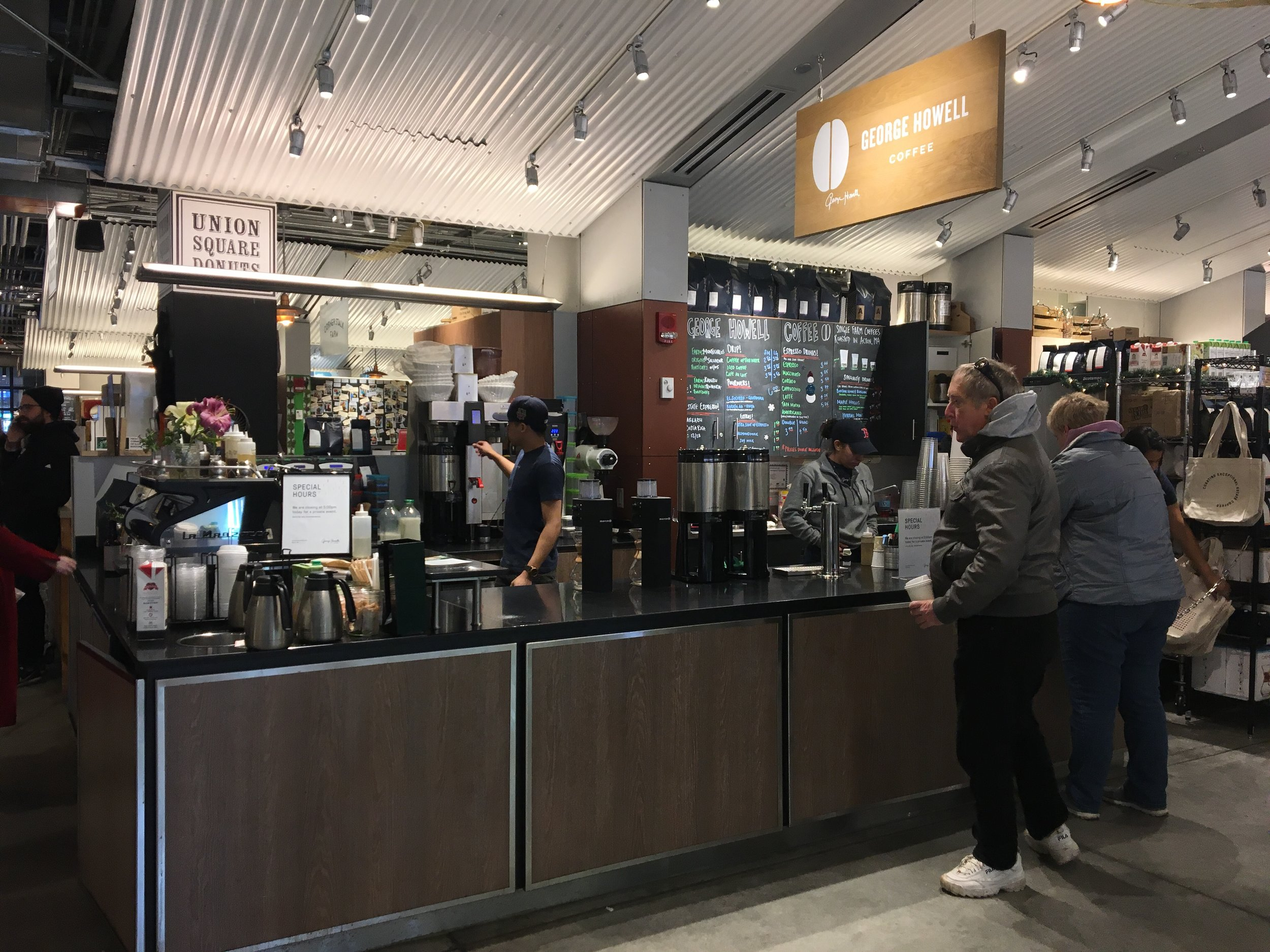 The George Howell Cafe at The Boston Public Market