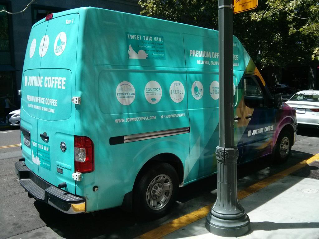 Joyride deliveries are streamlined for efficiency and sustainability