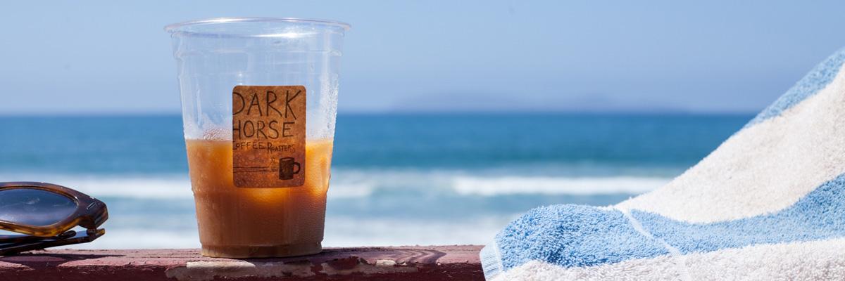 Dark Horse Coffee is one of Joyride San Diego's hyper-local options