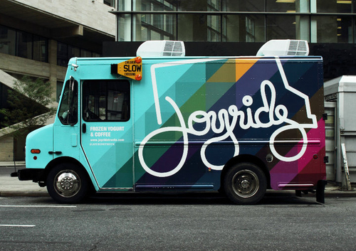 The Original Joyride truck in 2011, serving up fresh Stumptown coffee... before our office coffee delivery service took off!