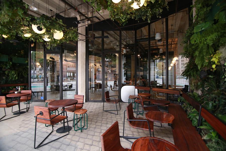 Verve's beautiful Los Angeles cafe