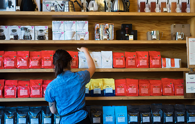 At Intelligentsia, your coffee is always handled with extreme care.