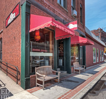 Atomic's second location in Marblehead, Mass. Photo Credit: Atomic Coffee