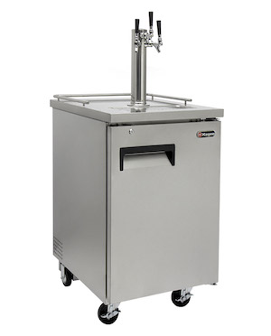 Commercial 3-Tap Kegerator