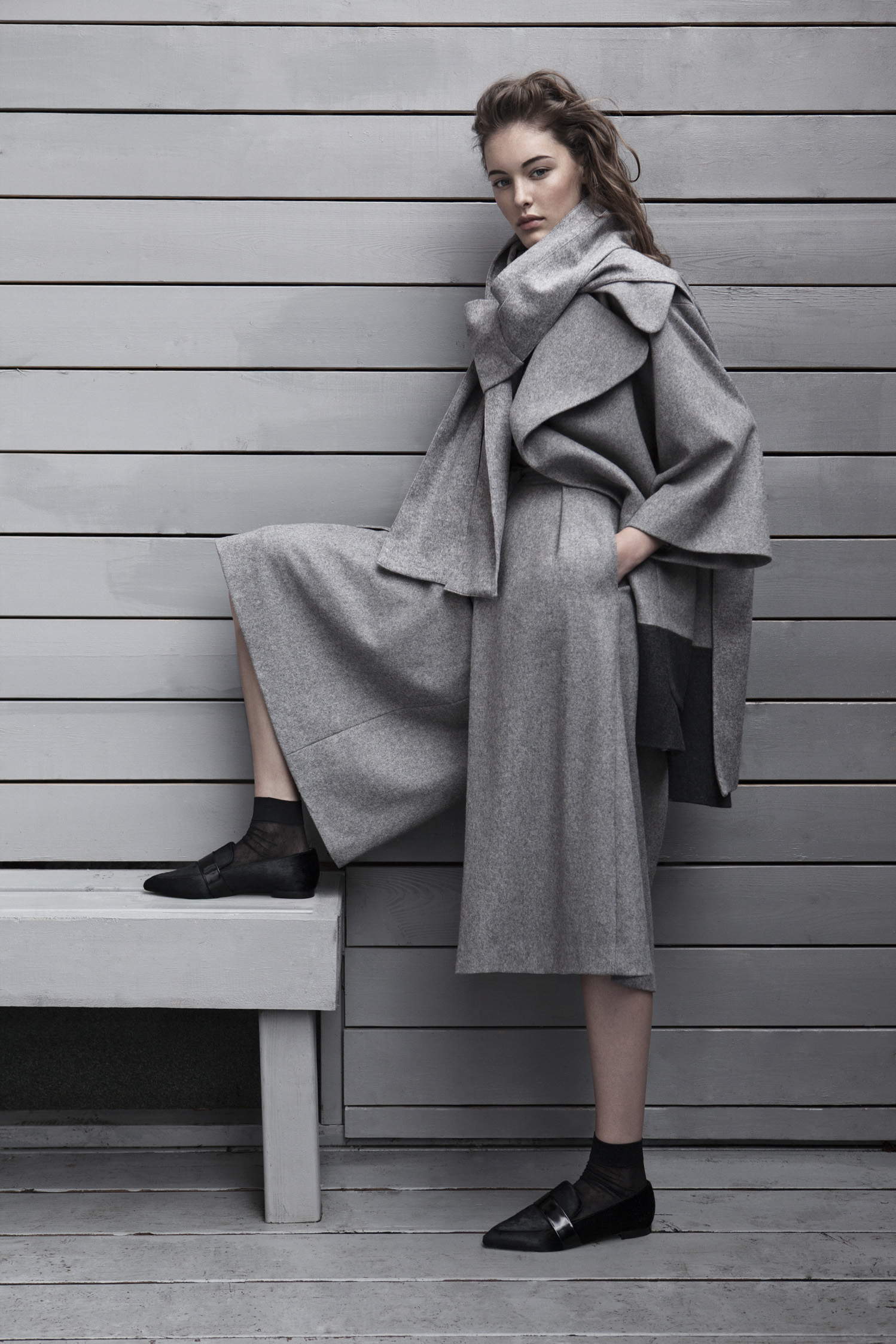 - Grey Capsule....Capsule #1 brings together ten refined pieces in shades of grey that are effortless, relaxed and easy to mix and match. Chic with notes of modern femininity, these neutral hues are versatile and offer endless possibilities in a women's wardrobe. In this collection, sumptuous textures in an assemblage of greys are tailored with meticulous craftsmanship to bring forth studied, contemporary silhouettes of enduring appeal...    Normal 0   21   false false false  EN-US JA X-NONE                                                                                                                                                                                         /* Style Definitions */ table.MsoNormalTable {mso-style-name: