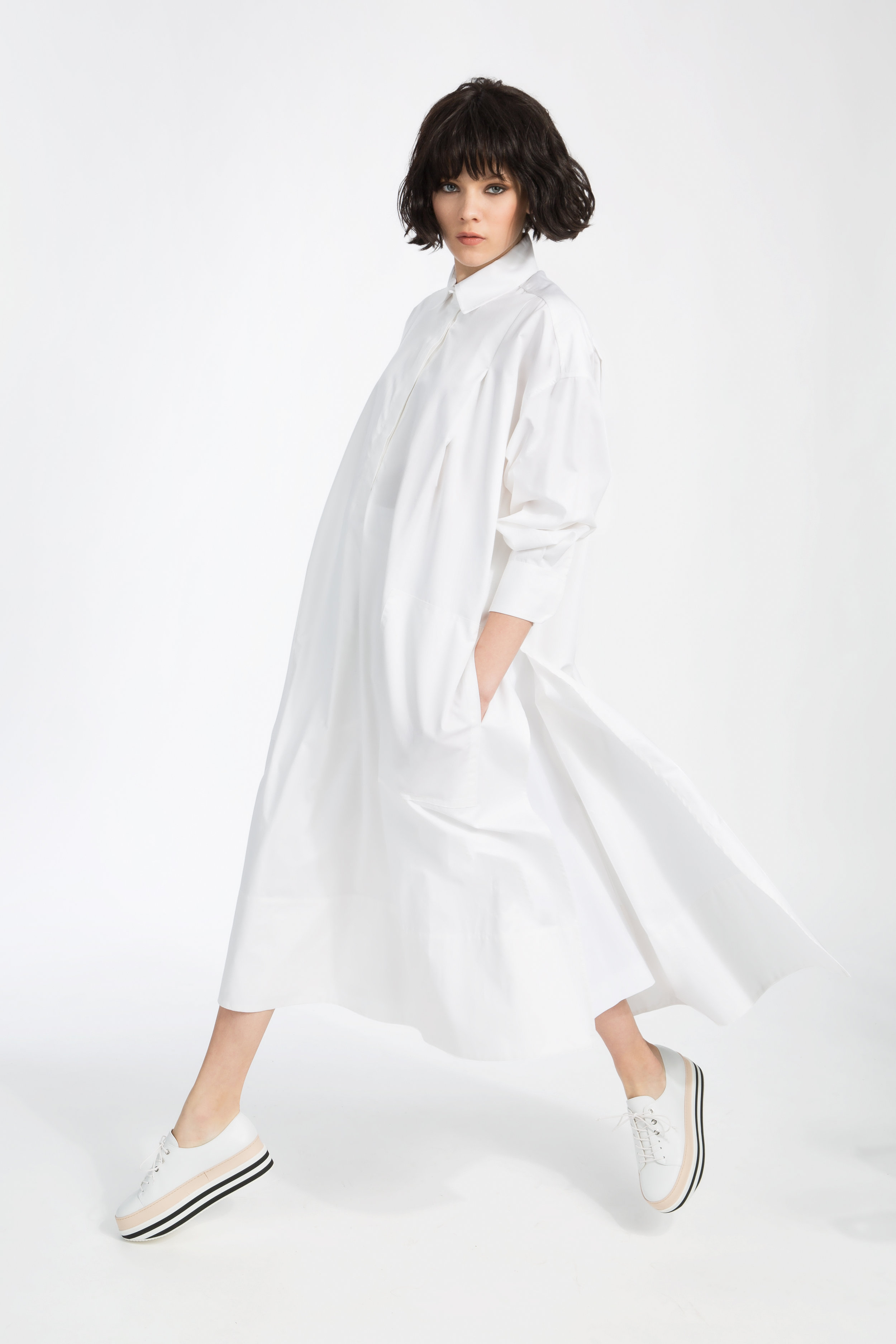 White Shirt Capsule - ....Capsule #2 celebrates the timeless minimalism of the quintessential white shirt, a staple in every woman's wardrobe. Each shirt, in this carefully edited collection, evokes a sense of effortless style, luxurious simplicity and elegance. Designed to put forth individual style, each piece highlights the refined craftsmanship and high-quality textiles that outlast the run of a fashion season...    Normal 0   21   false false false  EN-US JA X-NONE                                                                                                                                                                                         /* Style Definitions */ table.MsoNormalTable {mso-style-name: