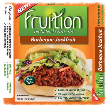 Recipe developed for barbecue flavored jackfruit (old packaging)