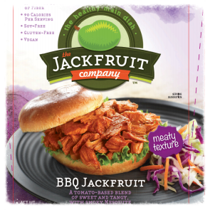 Recipe developed for barbecue flavored jackfruit (new packaging)