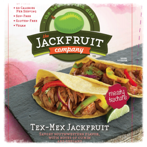 Recipe developed for Tex-Mex jackfruit (new packaging)