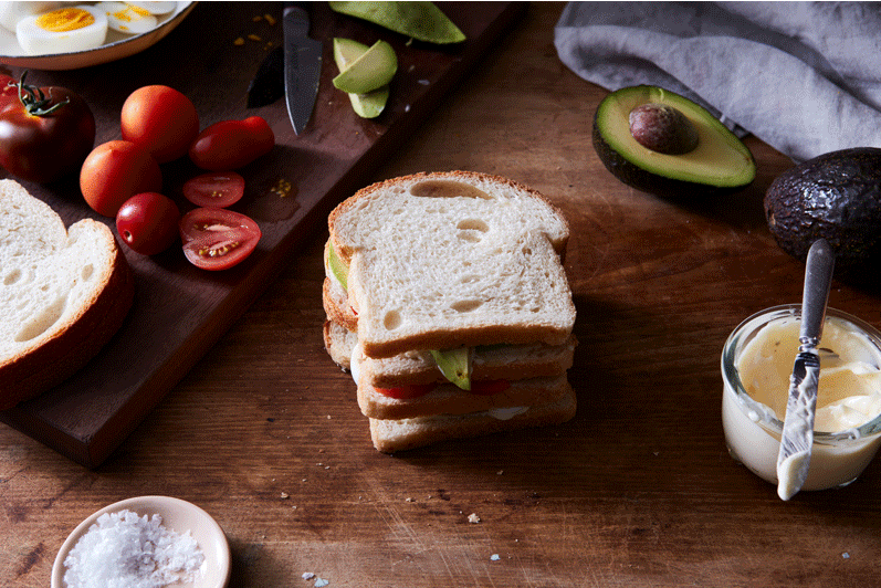 An Avocado Sandwich With Triple The Flavor (Thanks, Mayo)