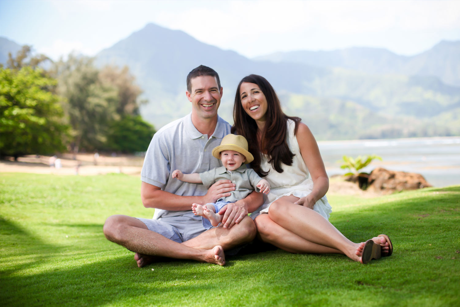 Adorable Family Photo Shoot Kauai