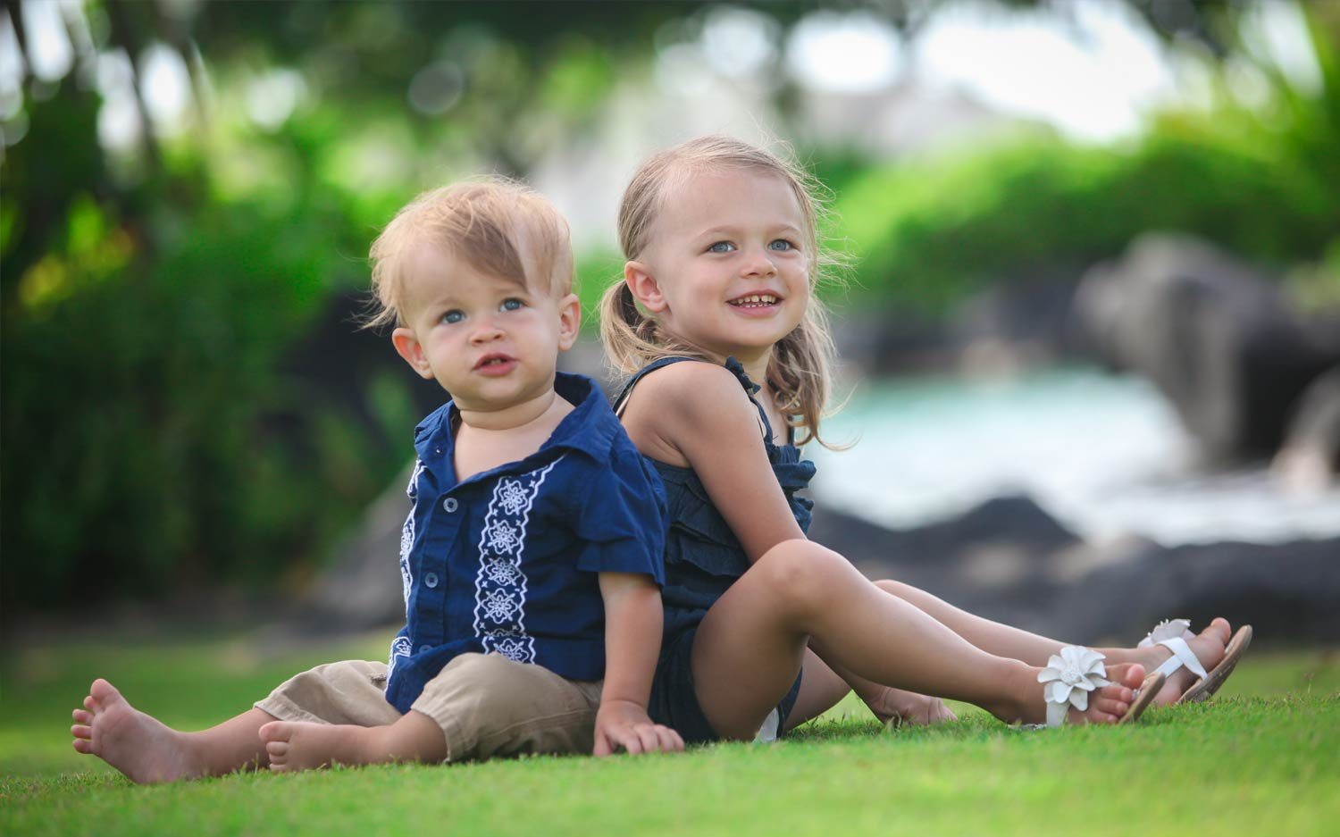 Toddler Photo shoot Hawaii