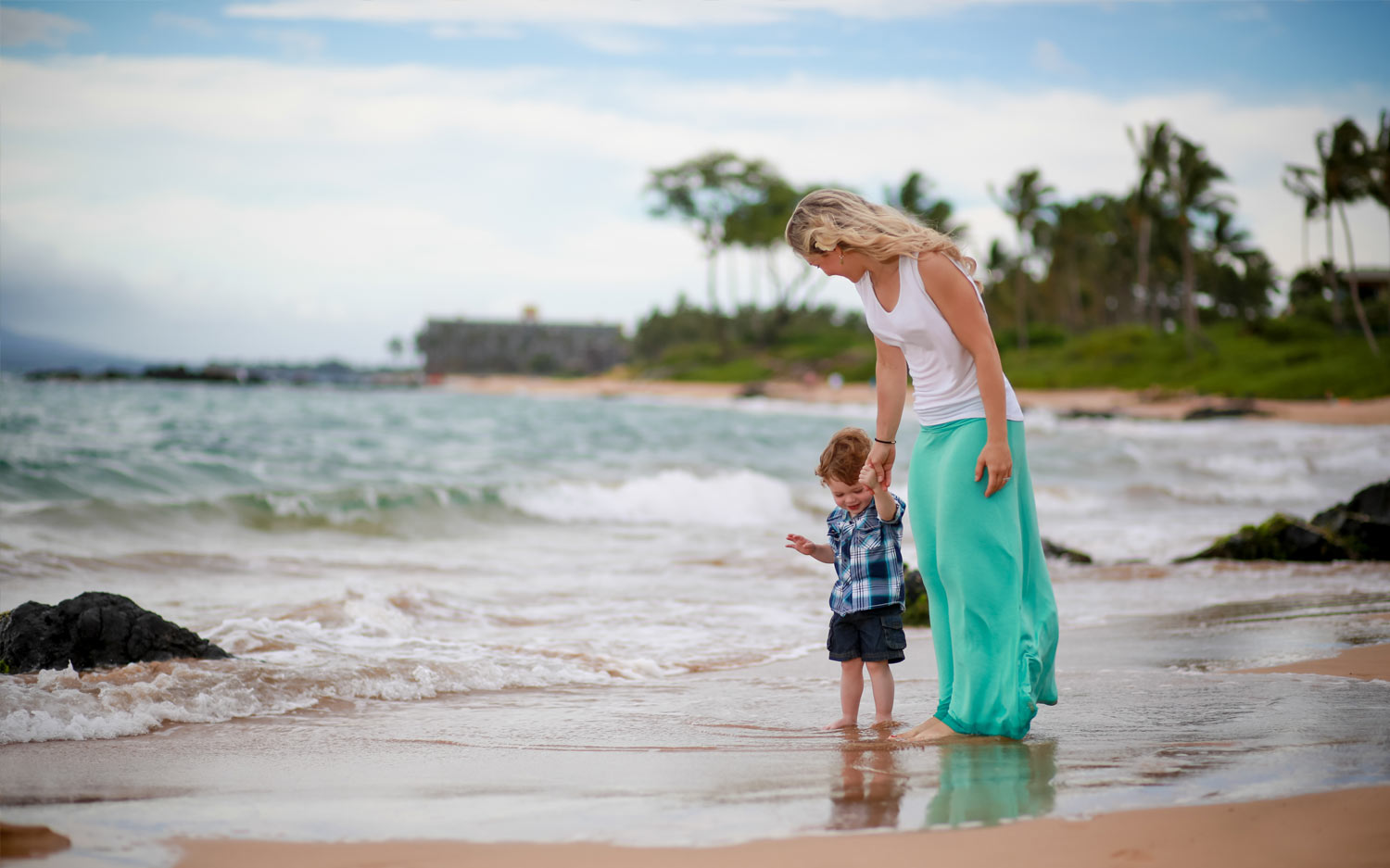 Family photography session Kauai