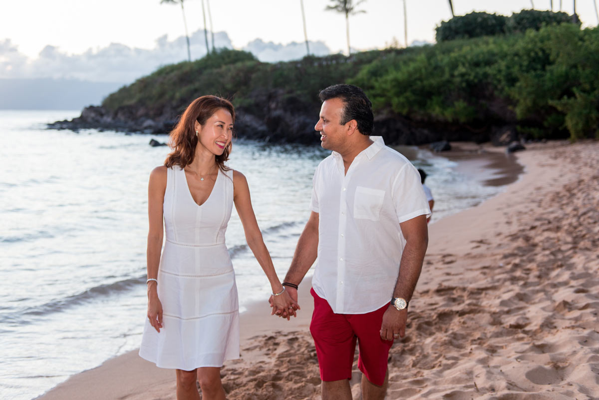 Couple photography session Maui