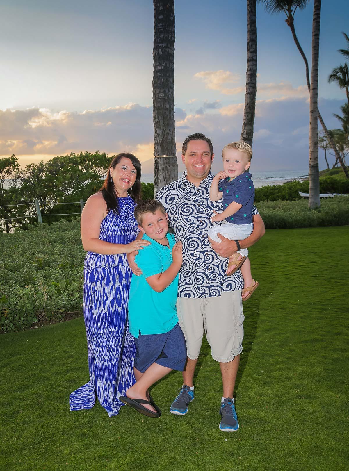 Family Vacation Photography Maui