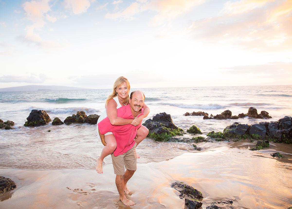 Family photo shoot Maui