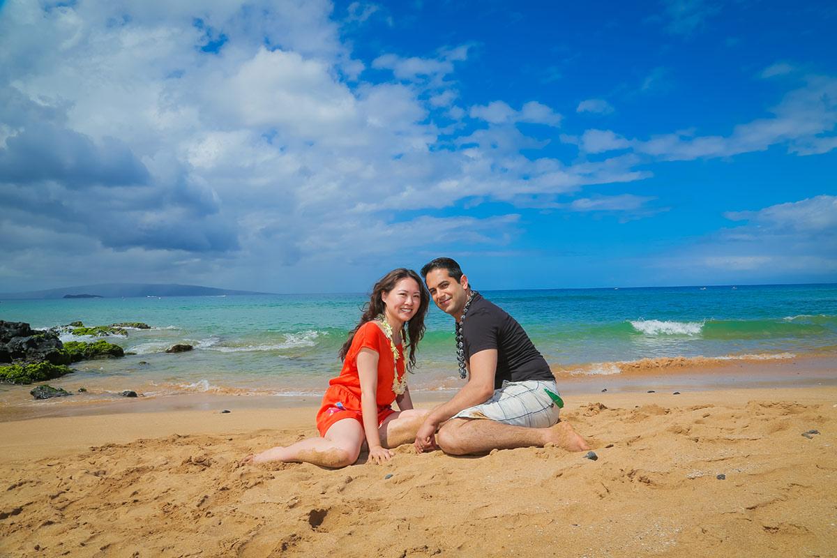 Couple photo shoot Maui
